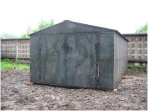 гараж из металла