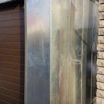 Сборка гараж металлического